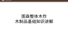 28、图森木制品基础知识,59页